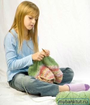 заработок девочкой-подростком вязанием