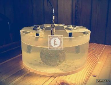 медные монеты обрабатывают электролизом